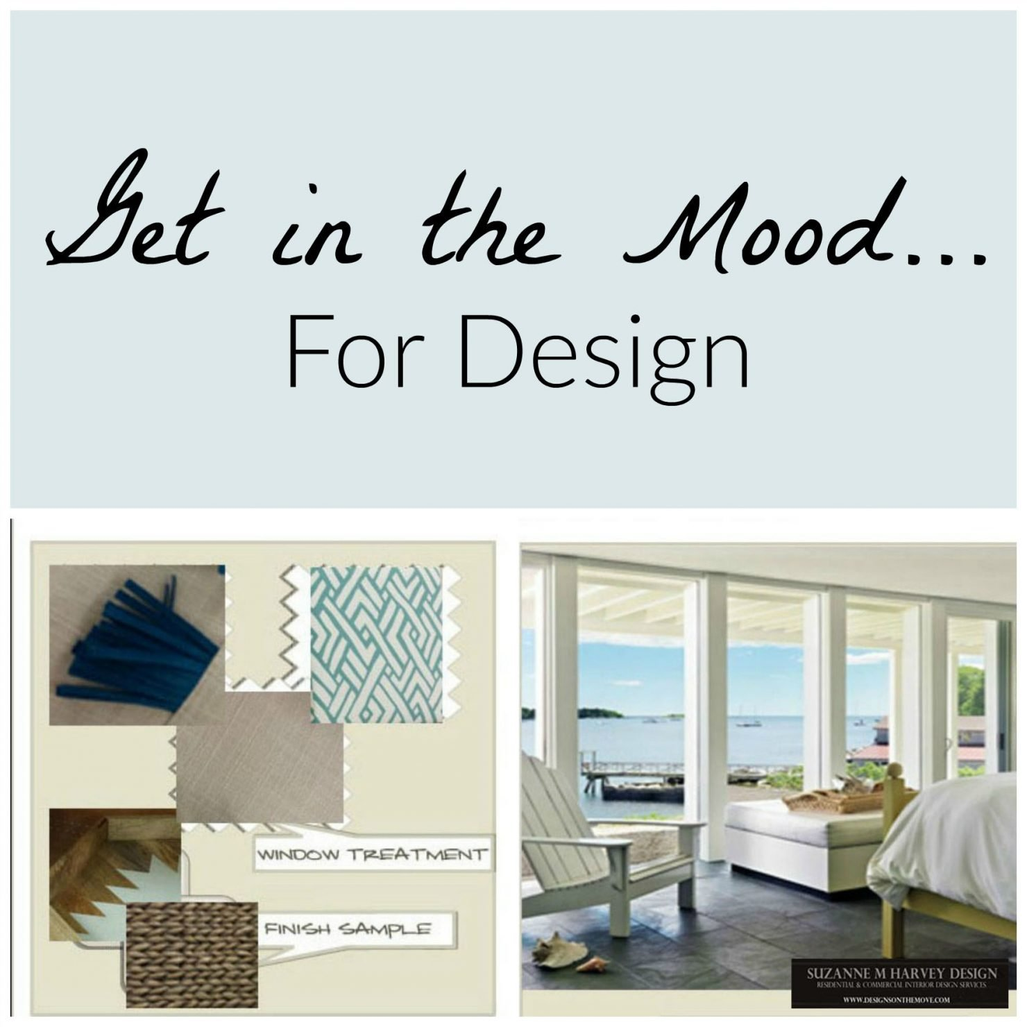 Get in the mood...for design