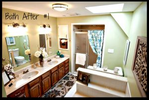 Bathroom Re-do for less than $1000