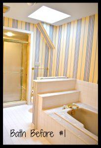 A Bathroom Reno for less than $1000?