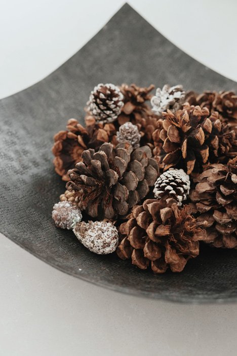 pine_cone_bowl_how_to_transition_from_holiday_decor_northeast_ohio_suzanne_m_Harvey.jpg